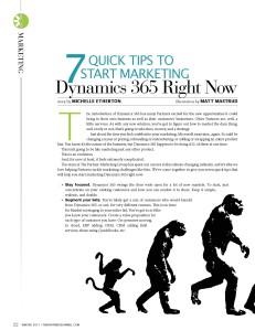 Marketing Dynamics 365