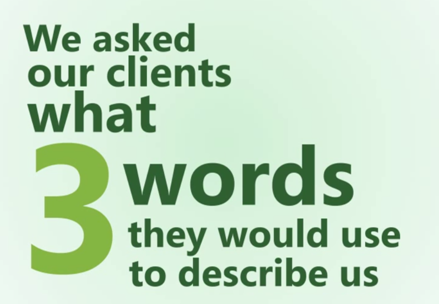 3 Words that Describe the Partner Marketing Group