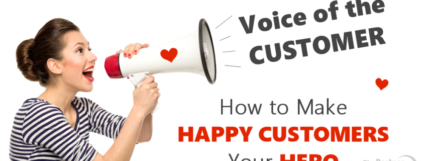 Voice of the Customer: How to Make HAPPY Customers Your HERO!
