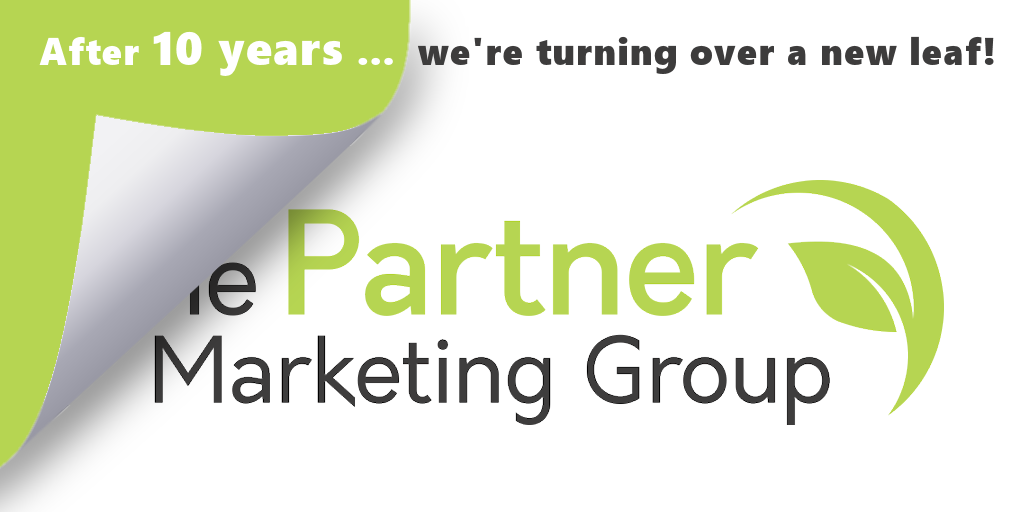 after 10 years the partner marketing group is turning over a new