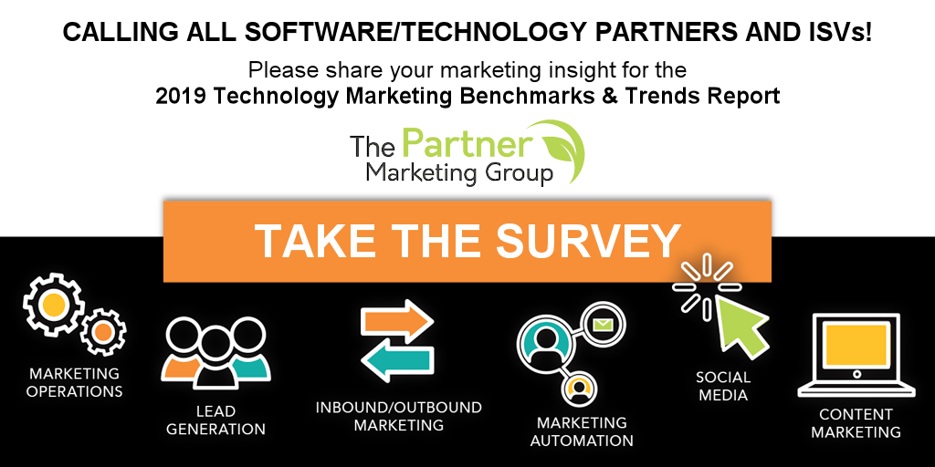 Calling all Marketers for Software/Technology Partners and ISVs!