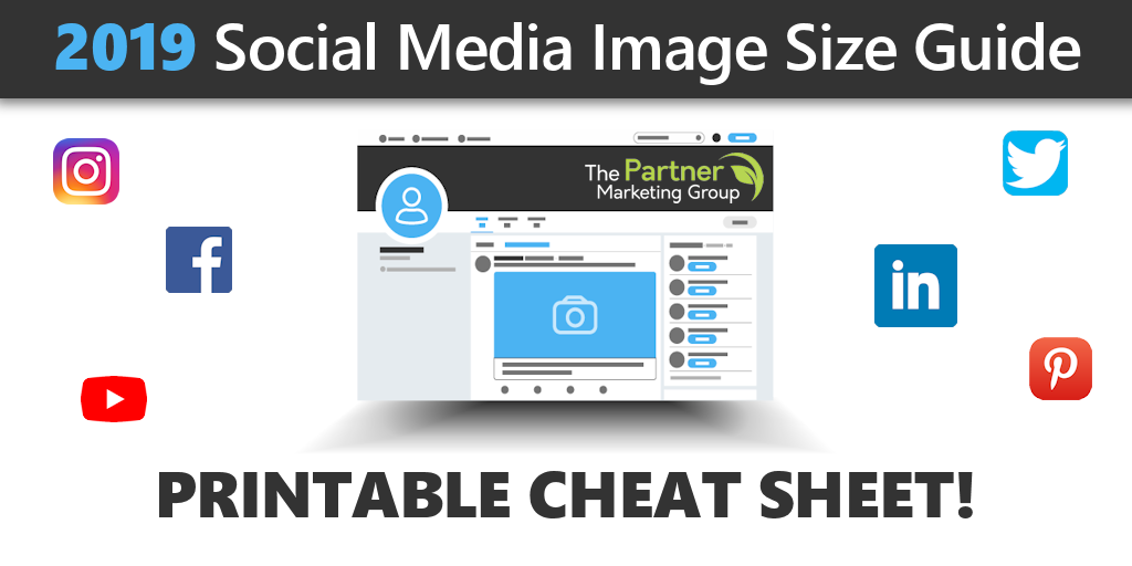 2019 Social Media Image Size Guide – Download and Print