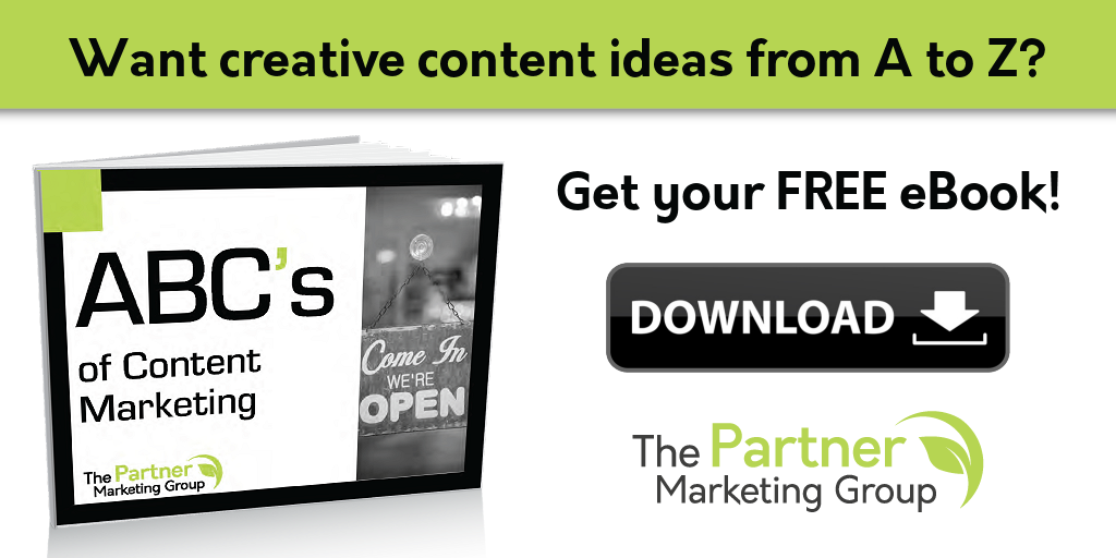 ABC's of Content Marketing eBook: Creative Content Ideas from A to Z!