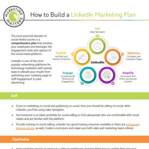 Hos to Build a LinkedIn Marketing Plan