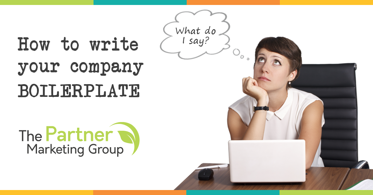 How to Write a Company Boilerplate: Download Tips and an Example